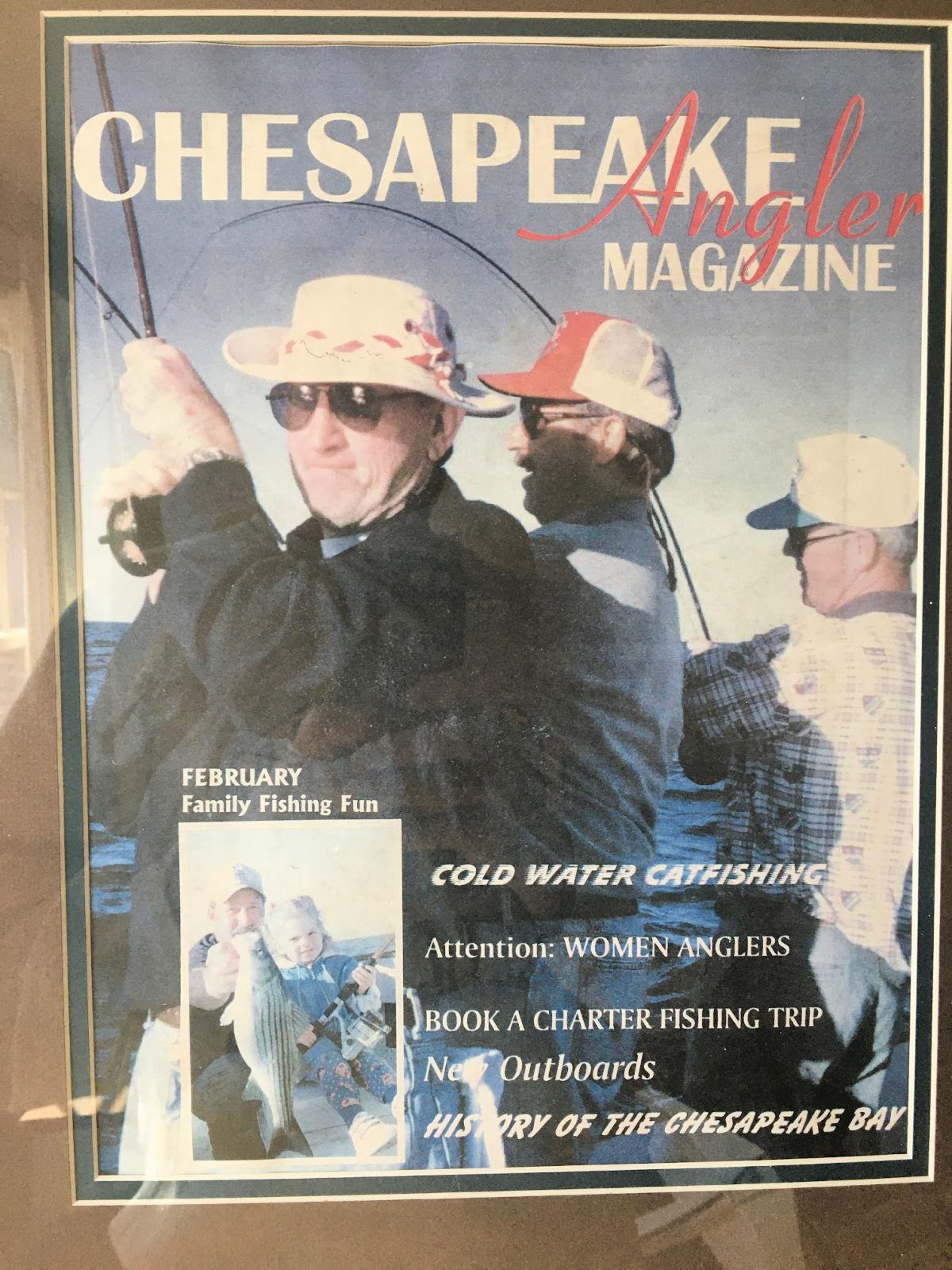 chesapeake bay anglers magazine